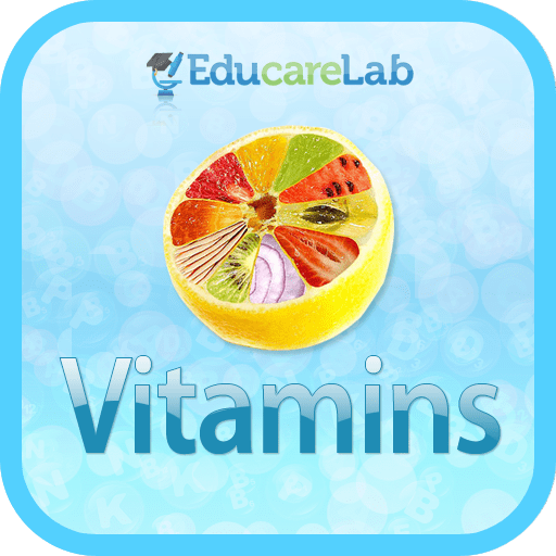 Vitamins Functions App by EducareLab for iPhone, iPod Touch and iPad