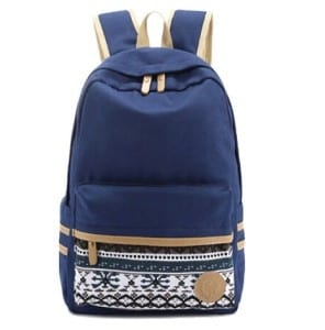 backpack with many compartments