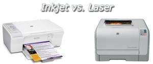 Inkjet vs LaserJet